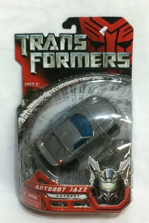2007 Movie Transformers Autobot Jazz Deluxe MIB Sealed Carded Boxed FREESHIP