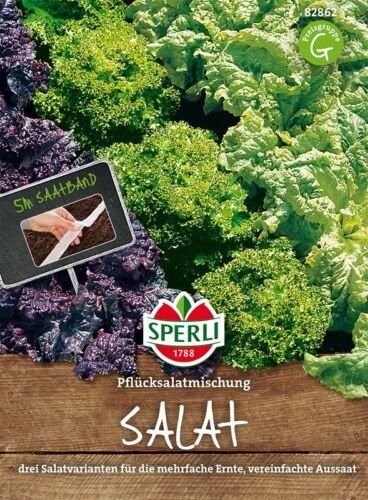 Sperli pflücksalatmischung Trois Variétés De Graines Salade Semences EUR 0,72//M