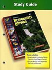 Responsible Driving Study Guide by McGraw-Hill/Glencoe (Paperback / softback, 2005)