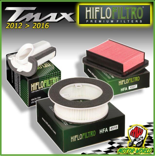 KIT TAGLIANDO 3 FILTRI ARIA FILTRO OLIO PER YAMAHA 530 T-MAX T MAX 2012
