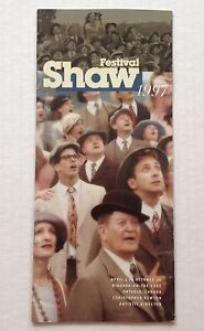 Shaw-Festival-1997-Brochure-Theater-Program-Canada-Theatre-Souvenir-Book