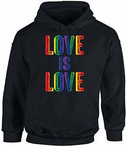 Unisex-Love-Is-Love-Hoodie-Hooded-Sweatshirts-Rainbow