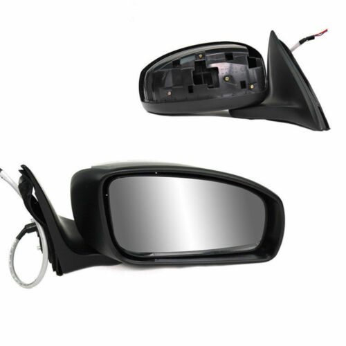 1piece Power Heated/&Adjustable Glass L//RH Side Mirror For Nissan Sylphy 2007-12