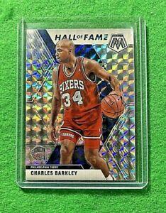 CHARLES BARKLEY MOSAIC PRIZM SILVER CARD 76ERS 2019-20 MOSAIC BASKETBALL HOF