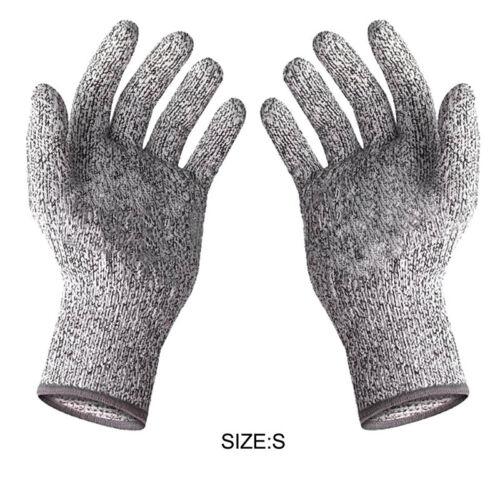 Safe Cut Resistant Gloves Level 5 Protection Safety Butcher Kitchen Anti-Scratch