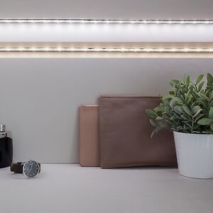2x 30er led streifen lichtband leuchtkette bewegungsmelder timer batterie ebay. Black Bedroom Furniture Sets. Home Design Ideas