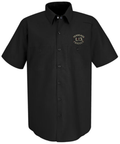 Authentic LUCKY 13 Twin Cobras Work Shirt S-4XL NEW