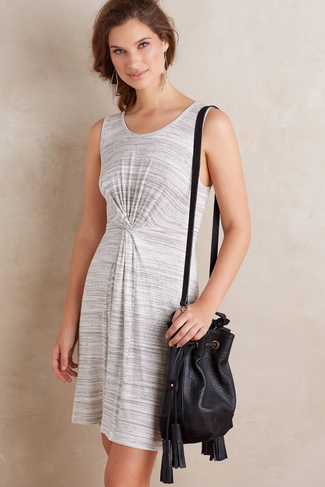 NWT  Anthropologie Loop-Front Dress by Amadi Sz. X-Small