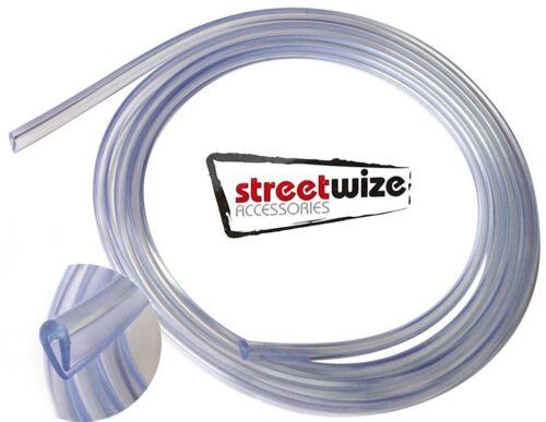 2 X Streetwize Car Door Edge Protector Trim 2m Quality Clear U Shape Guard SWDP2