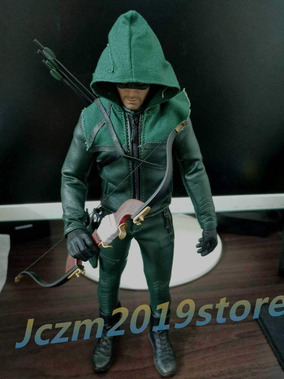 Threeq 1 6 ciudades Ranger TQ1001 DC Comics héroe Flecha verde Juguete Figura Modelo Masculino