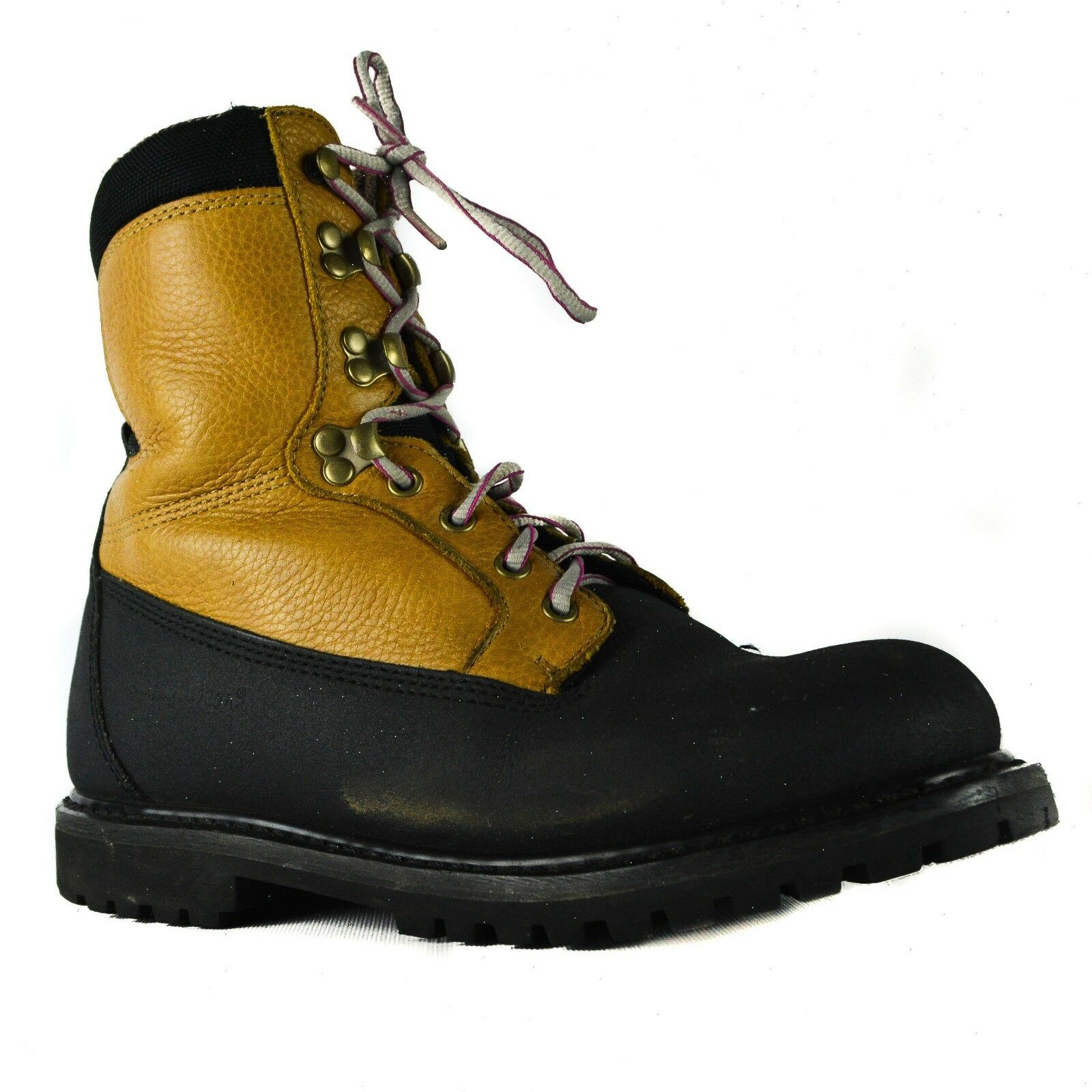 RefrigiWear Size 8 Barricade Insulated Waterproof Brown Leather Work Boots