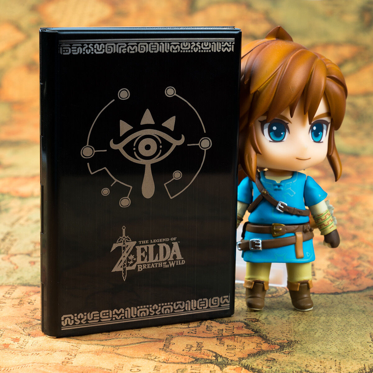 the Legend of Zelda Breath of the Wild Steel Card Memory Box For NS Switch Be