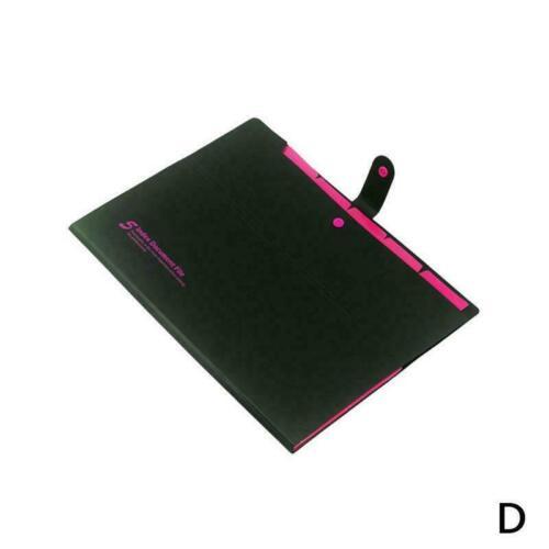 Plastic School File Case Paper Organizer File Folder Document Office Tool B C3J2