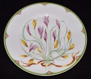 Ceralene Raynaud Limoges, France CROCUS Dinner Plate | eBay