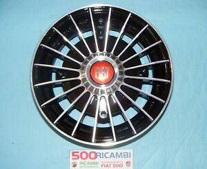 FIAT-500-F-L-R-126-4-CERCHI-IN-LEGA-NERI-DIAMANTATI-RUOTE-DA-12-034-EPOCA-4x190