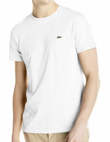 New Nwt Lacoste Men/'s Pima Cotton Sport Athletic Jersey Crew Neck T-Shirt Tee