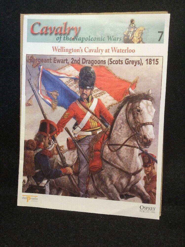 DEL PRADO COLLECTION SGT.EWART 2ND DRAGOONS (SCOTS GREYS) 1815 BOOKLET