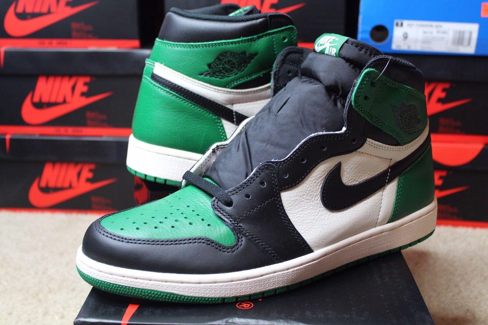 Jordan 1 Retro OG High 12 Pine Green Men Size 12 High BRAND NEW 555088-302 5e0a32