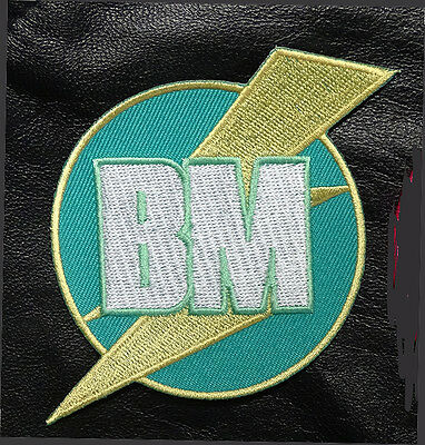 Sew On Patch BM Best Man You Me and Dupree Movie Embroidered Logo Iron On