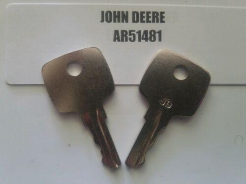 Llaves de Encendido Ar51481 para Tractor de C/ésped Joh N Deer E 322 330 332 F912 F915 F932 F935 655 755 756 830 1020 2020 3300 4200 4300 4320 4400 5200 5210 6030 6600 7020 7700 7720