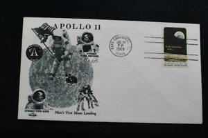 Space-Cover-1969-Macchina-Annullo-Postale-Apollo-11-Luna-Sbarco-Orbit-5456