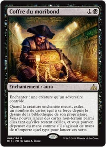 MTG Magic RIX Dead Man/'s Chest//Coffre du moribond French//VF