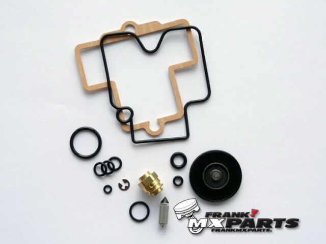 Rebuild kit 4 Keihin FCR carburetor Suzuki DRZ 400 DR-Z400 repair 39 flatslide