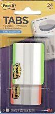 Post It Note Tabs Notetabs 2x15 Easy Dispenser Assort Neon 24 Pk 686f 24lot