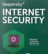 Kaspersky Internet Security 2017 - 1 User 1 Year - Antivirus Windows 10 R