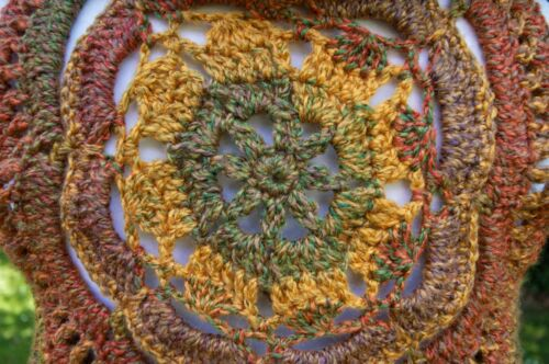 Boho Pixie Psy Crochet Festival Chaleco Otoo Hippy nYPPxwzSq