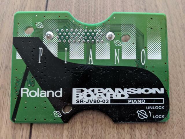 Roland POP Expansion-Board SR JV80-01 für  JV1080 JV2080 XV5080 GEWÄHR