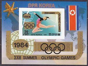 KOREA-Pn-1983-MNH-SC-2275-s-s-Ovpt-XXIII-Summer-Olympic-Games-1984-Imp