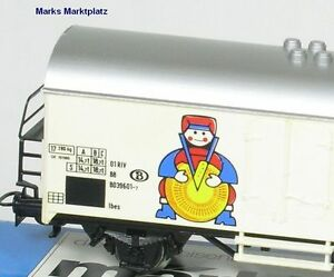 H0-Kuhlwagen-Valio-Finland-SNCB-Marklin-4568-TOP-OVP