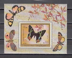 785 Fujeira Mi Cat Bl79 A.butterfly / Blatt Gut FüR Energie Und Die Milz