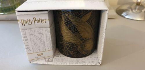 Harry Potter Genuine Golden Snitch Mug