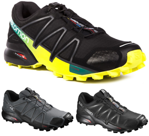 SALOMON Speedcross 4  Outdoor Trail Running Athletic Trainers shoes Mens New  best reputation