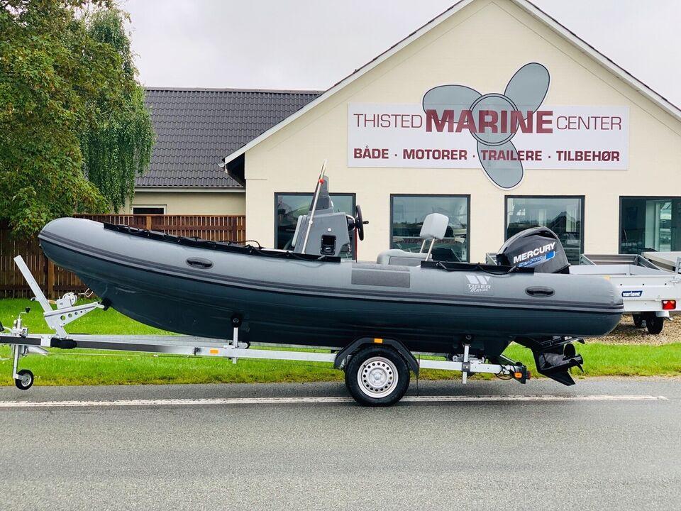 Tiger Marine 520 Open, RIB, årg. 2019