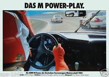 BMW E30 M3 BMW Motorsport poster print # 11