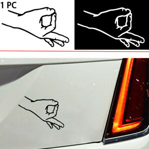 OK-Gesture-Windshield-Luggage-Sticker-Motorcycle-Funny-Auto-Car-Decal-Decoration