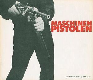 Maschinenpistolen-ORIGINAL-Presseheft-James-Cagney-TOP