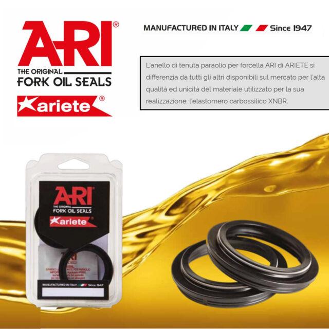 ARI009 [Ariete] Set Sellos de Aceite Horquilla 27X 39X 10,5 TC4