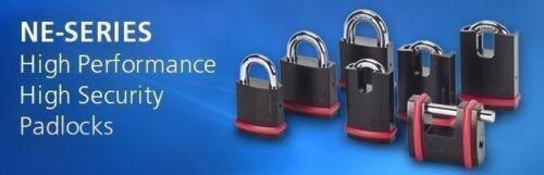 Mul-T-Lock Padlock NE SERIES SBNE10 Sliding Bolt High Security  BORON SHACKLE