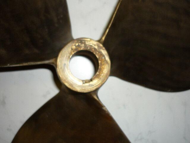 2X Van Schiffspropeller Bronce Hersteller Van 2X Voorden Durchmesser 44 cm b4320e