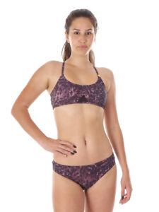 Peggy Brunotti Mare Sportbra Motivo Moda Bagno Costume Bikini Da Marrone Wfr4WZ01