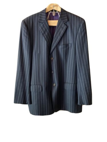 Paul Smith Mens London Blue Pinstrip Suit 42