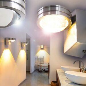 Details Zu Led Wandleuchte Design Badezimmer Nassraum Bad Linse Down Strahler Spot Ip44