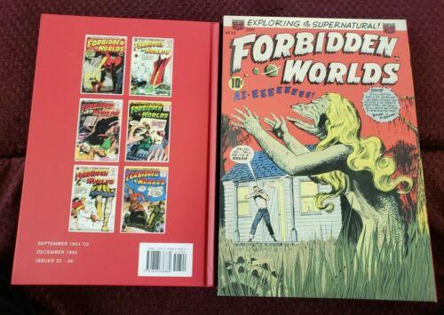 Forbidden Worlds Archives Vol 6 SLIPCASE edition Pre-Code Horror NM Creepy