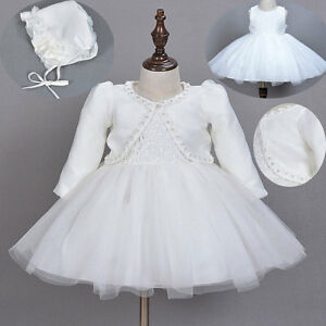 1c24dd84e8d3 Christening Gown Baptism Dress Baby Wedding Lace Skirt Toddler ...