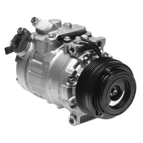 For BMW E39 528i 2.7 1997 A//C Compressor and Clutch Denso 471-1118
