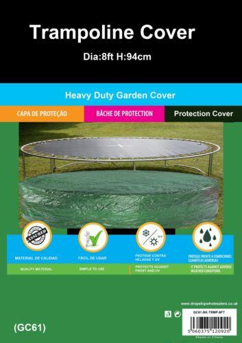 Garden Outdoor Trampoline Covers Waterproof /& Washable,Durable POLYETHYLENE